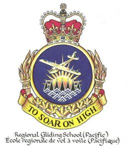 Crest of the Regional Gliding School (Pacific)