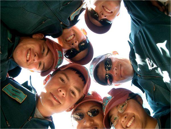 Happy Air Cadets
