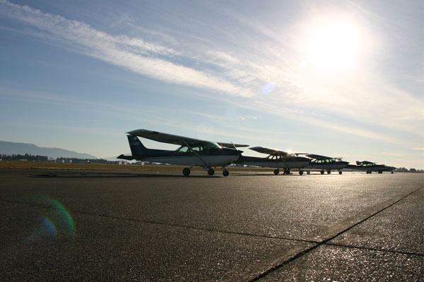 Power familiarization flight line