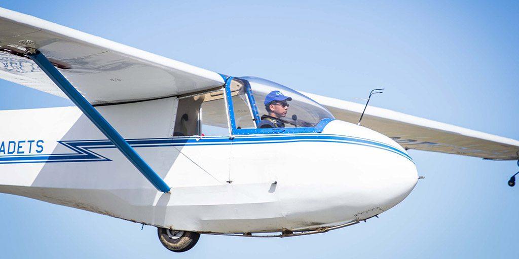 Comox, BC - Air Cadet pilot